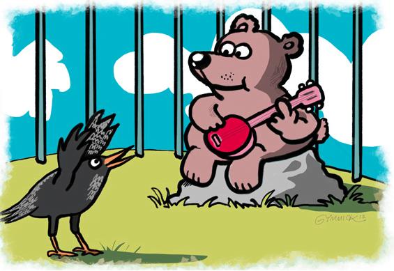 Krähe & Bär